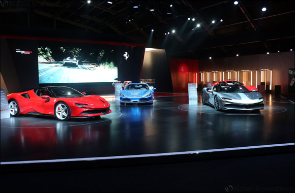 Universo Ferrari exhibition opens today