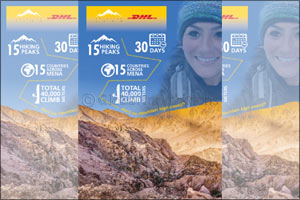 A Journey of Belief: Caroline Leon goes the extra mile with DHL as she attempts to climb highest MEN ...