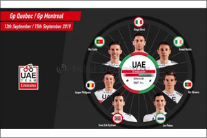 Diego Ulissi to Lead UAE Team Emirates as They Take on a Double Bill of Racing in Canada