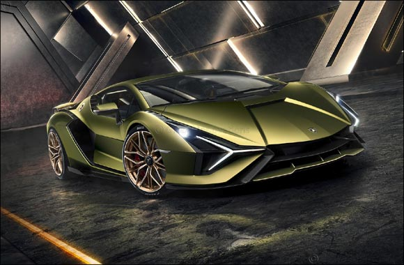 The Lamborghini Sián:
