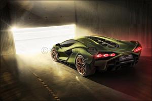 The Lamborghini Sián: