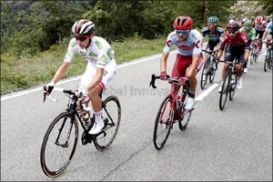 UAE Team Emirates' Pogacar Inches Closer to a Second Place Finish at La Vuelta