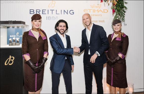 Breitling Announces Partnership With Etihad Airways