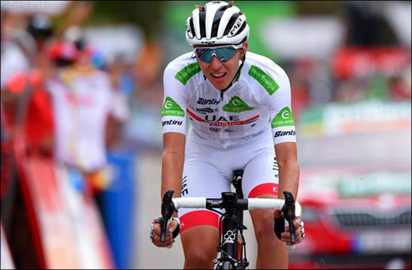 Top 10 Stage Finish Keeps Pogacar in Gc Contention at the Vuelta a Espana