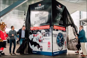 As Official Timekeeper of the 2020 IIHF Ice Hockey World Championship, Tissot starts the countdown t ...