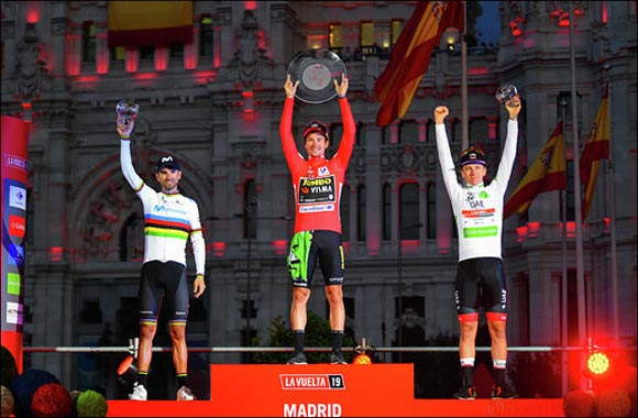 A Proud Moment for the UAE as Pogacar Podiums at La Vuelta and Makes History for His Team