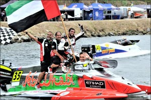 Al Qemzi Keeps Team Abu Dhabi on Course for Quadruple World Title Success