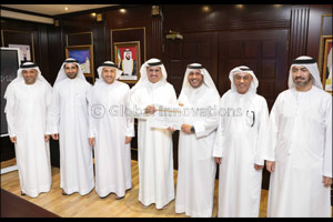 Saeed Al Tayer commends Ahmad Bin Shafar for his pivotal role in developing Empower and the district ...
