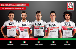 UAE Team Emirates Looking to Do the Italian Job With Three Days of Racing in Southern Europe