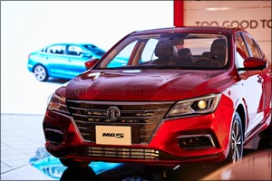 Al Yousuf Motors hosts the UAE debut of the new MG5