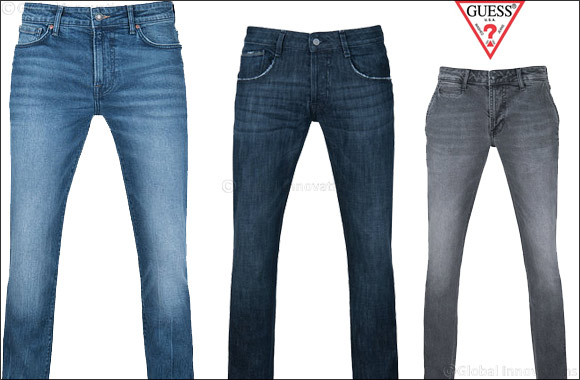 GUESS' Denim Fit Guide for Men