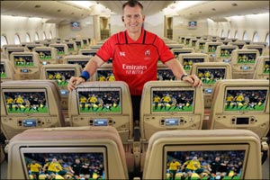 Emirates kicks off Rugby World Cup 2019� with referee Nigel Owens