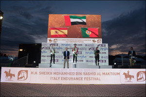 Azizi Developments sponsors H.H. Sheikh Mohammed bin Rashid Al Maktoum Italy Endurance Festival