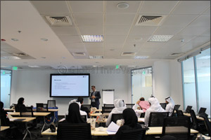 Qatar Finance and Business Academy in collaboration with Northumbria University concluded its Orient ...