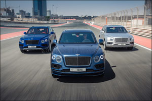 Bentley celebrates Bentayga sales success in the Middle East as the World's Fastest SUV arrives in t ...