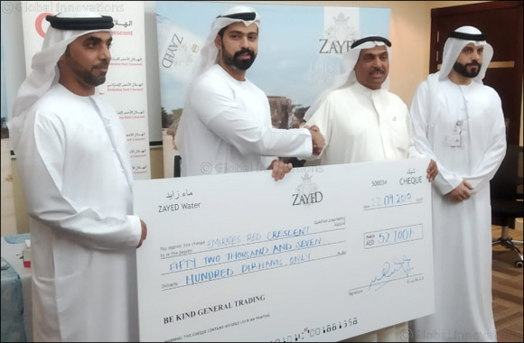 Zayed Water Donates 100% of its Profits to Emirates Red Crescent to Fund 12 Water Wells in 7 Countries