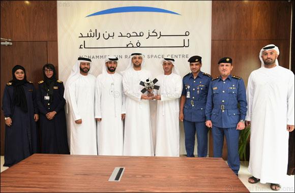 Dubai Customs delegation visits MBR Space Center