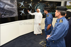 Dubai Customs delegation visits MBR Space Center
