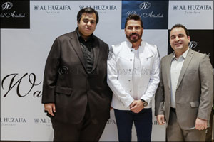 Al Huzaifa Furniture stages an extraordinary show for fashion designer Walid Atallah