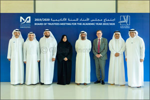 H.H. Sheikh Ahmed bin Saeed Al Maktoum Chairs  MBRU's Fourth Board of Trustees Meeting