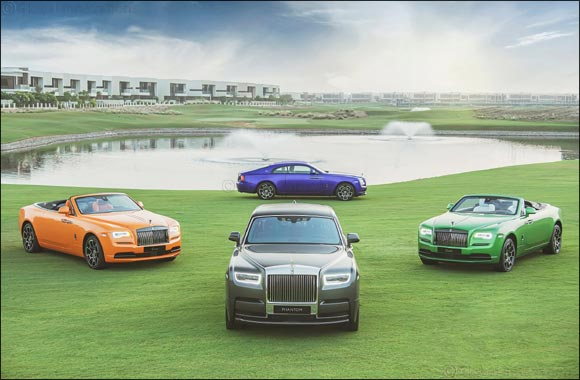 Rolls-Royce Motor Cars AGMC Dubai Launch the Goodwood Pioneers Collection