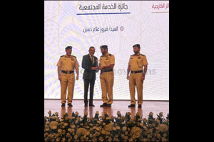 Abu Dhabi Police honours Firoz Merchant with �Commander in Chief's Excellence Award' 2019