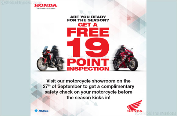 Calling all Honda Riders to get ready for the outdoor season. Trading Enterprises – Honda offers a free 19-point check