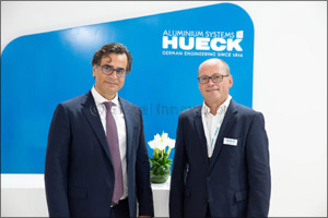 HUECK Middle East showcases innovative products & solutions at �Windows, Doors & Facades Event 2019'
