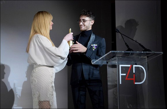 Arab Fashion Council founder scoops the League of Gentlemen Award in New York