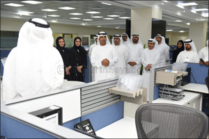 Dubai Customs Director General inspects CDM and Control Room