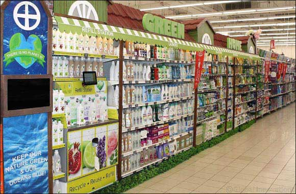 "Carrefour Introduces ""Green Home"" Zero-Waste Detergent Refill Station"