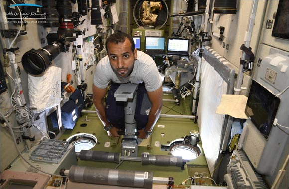 In pictures.. Hazzaa AlMansoori conducts Osteology aboard ISS