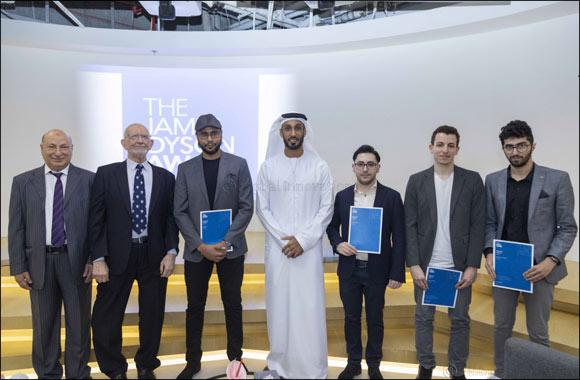 AU Team Wins Top Spot in James Dyson Award