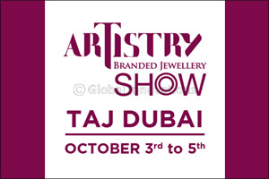 Artistry Branded Jewellery show by Malabar Gold & Diamonds to held at Taj Dubai, Business Bay is a m ...