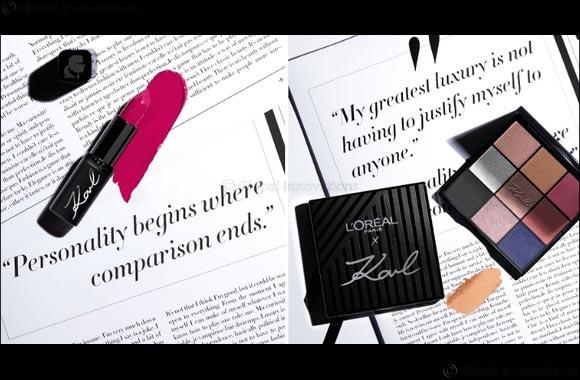 Karl X L'oréal Paris Exclusive Collaboration