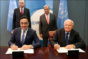 Turkish Airlines and United Nations Alliance of Civilizations created a joint platform.