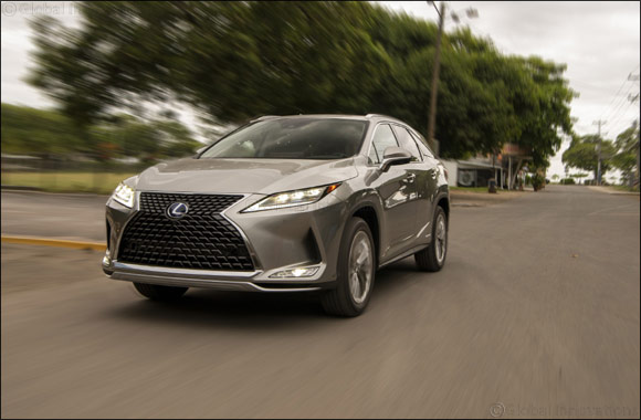 Al-Futtaim Lexus introduces the most captivating new 2020 Lexus RX with a refreshed brave design, technology and class-leading safety features