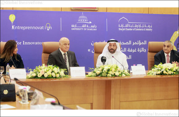 SCCI and UOS Announce Doubling of the Financial Value of Sharjah Chamber's Award for Innovators to AED 100000