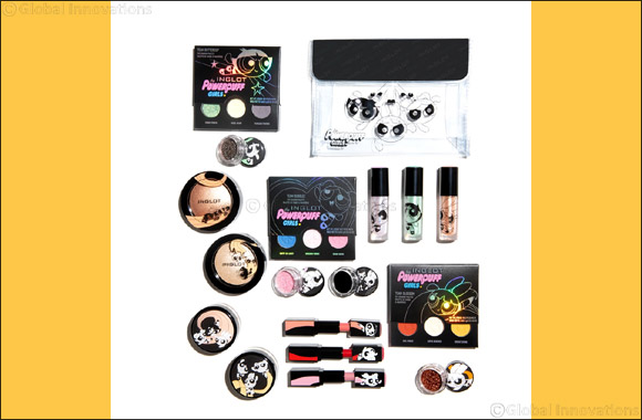 "Inglot Cosmetics Partners With Cartoon Network for Limited Edition ""The Powerpuff Girls"" Beauty Collection"