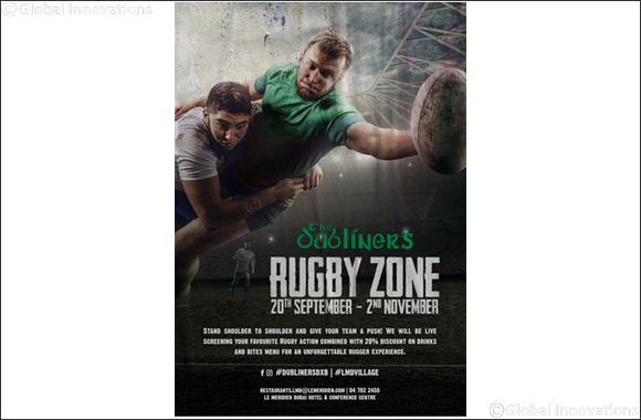 The Dubliner's present Rugby Zone