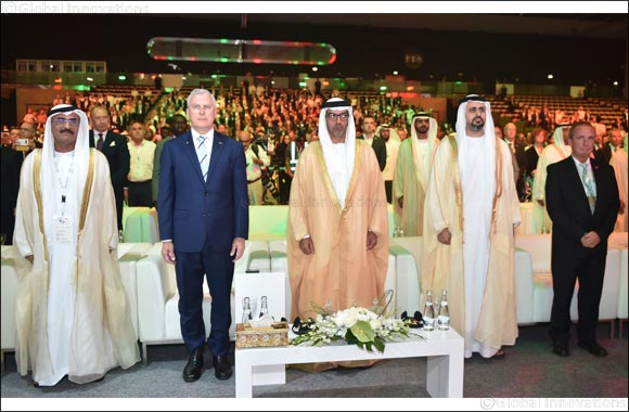 Under the Patronage of Mohamed Bin Zayed, Hamed Bin Zayed Inaugurates the World Road Congress in Abu Dhabi