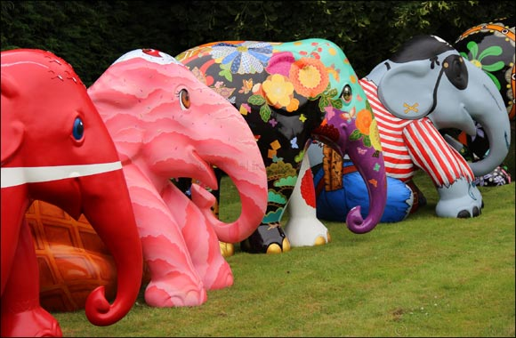 Global Social Enterprise 'Elephant Parade' Exhibits in the Middle East for the First Time
