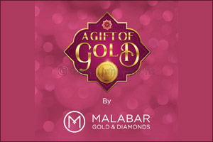 �A Gift of Gold' offers at Malabar Gold & Diamonds