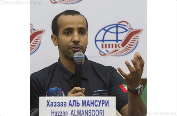 Hazzaa AlMansoori reveals post flight details in a press conference