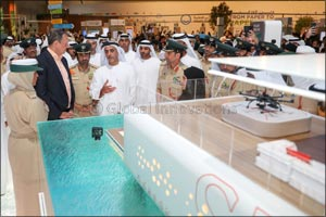 Saif bin Zayed unveils first floating Smart Police Station