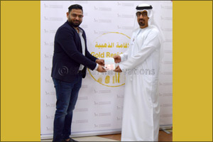 The My Perfumes Group receives the Golden Visa