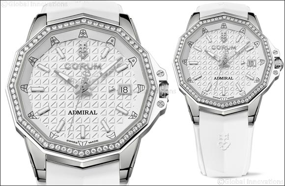 A new model for the ladies enriches the Corum AC-One collection with luscious femininity