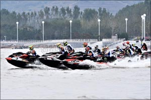 Al Tayer Battles on in China After Aquabike Setback