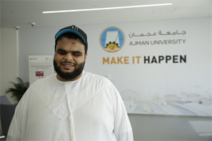 This visually-impaired Emirati knows no impossible