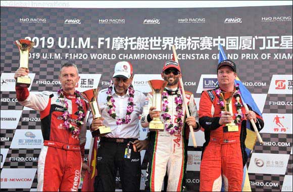 Torrente Wins Grand Prix of China to Regain Lead in World Title Race